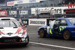 海外レース他 | スバル・インプレッサWRC98とヤリスWRCのコラボレーション