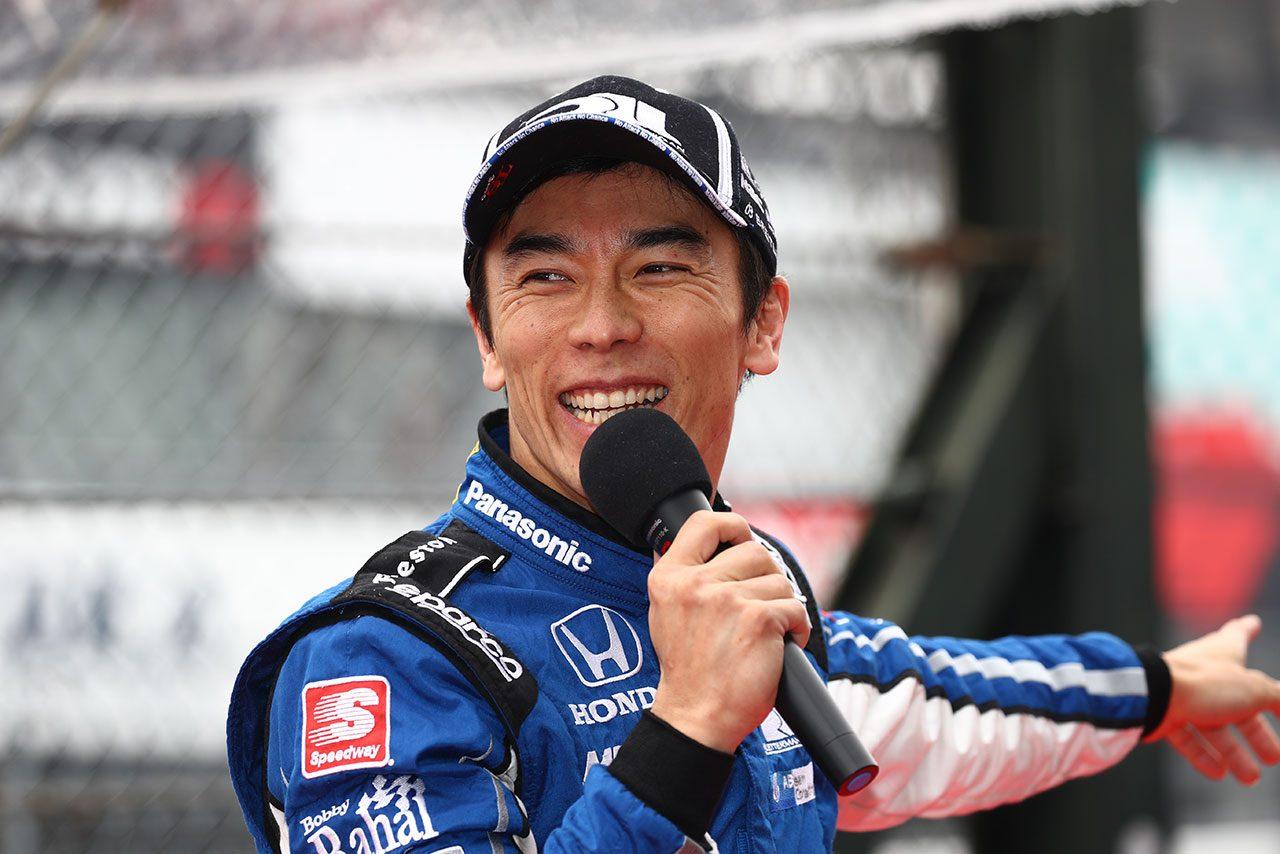 鈴鹿でインディカーを走らせた佐藤琢磨