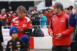 海外レース他 | 赤いウェアということで紅組に所属することになった加賀山就臣と高橋巧