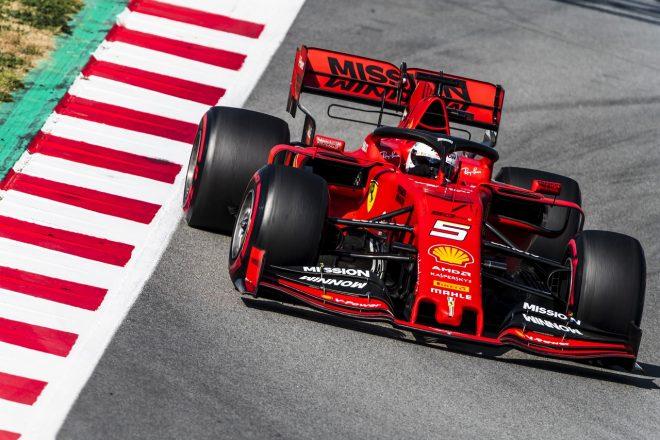 2019年F1テスト セバスチャン・ベッテル(フェラーリ)