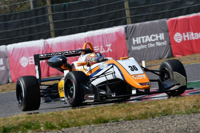 国内レース他 | 全日本F3選手権鈴鹿合同テスト:初日は宮田莉朋がトップタイム。フェネストラズが2番手に