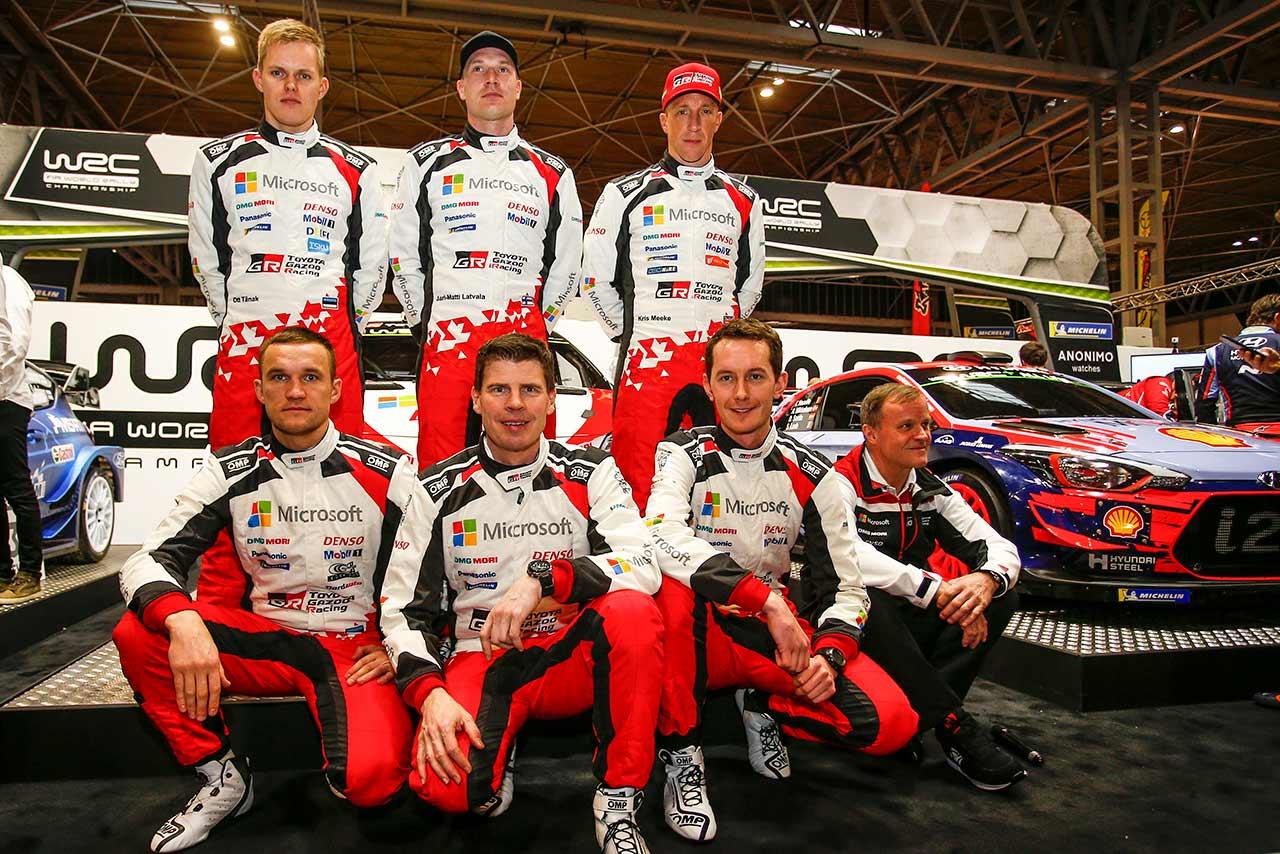 ラリー/WRC   TOYOTA GAZOO Racing WRT 2019年