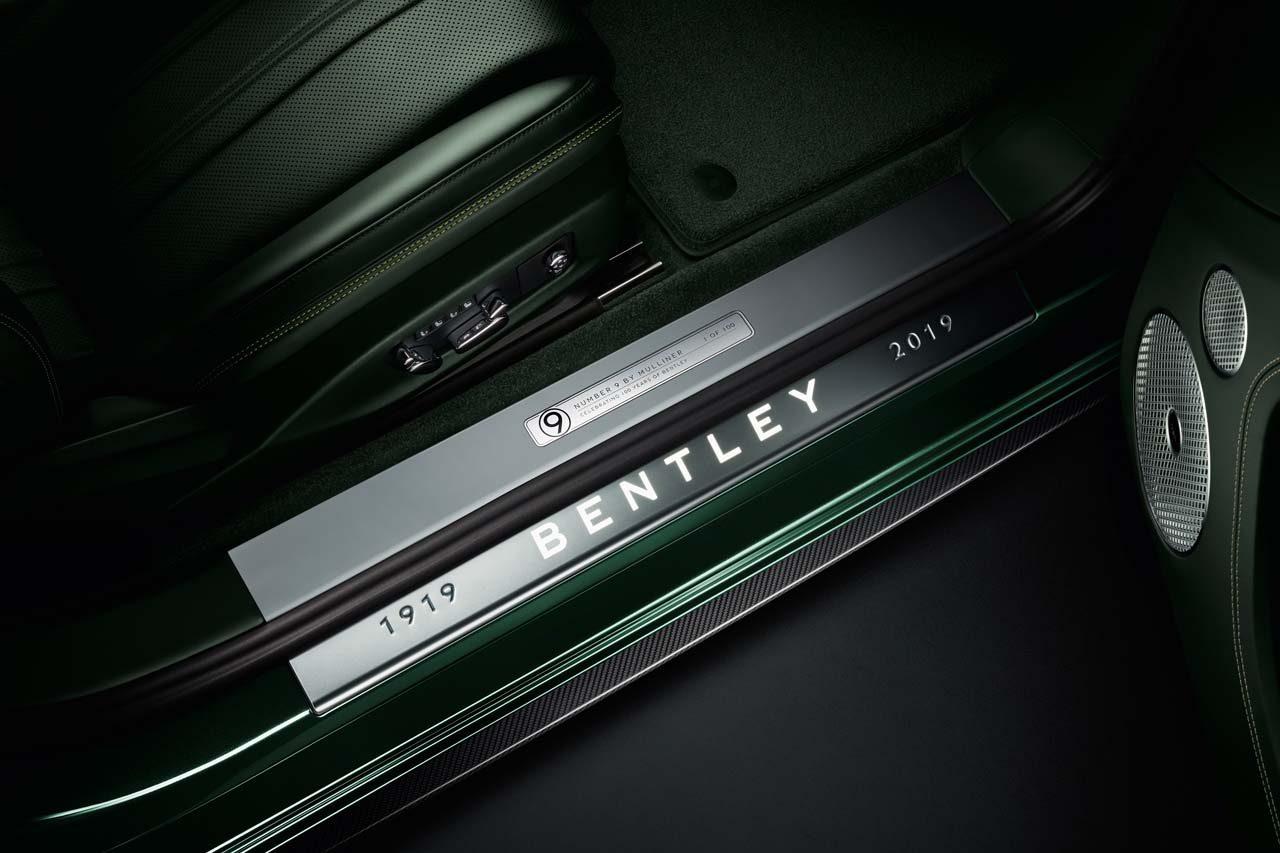 ベントレーの栄光を受け継ぐ特別な『コンチネンタルGT』が登場。100周年にちなみ100台限定生産