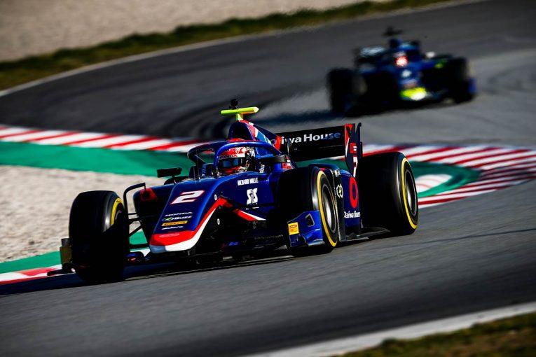 海外レース他 | 【FIA-F2バルセロナテスト2日目タイム結果】松下信治が総合9番手、ミック・シューマッハーは6番手タイム