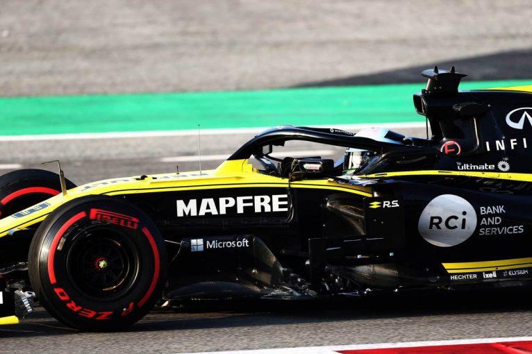 F1 | 順調に終わったF1テストの内容に自信を深めるルノーF1「他チームとの差は極めて小さい」