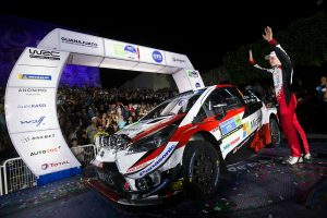 ラリー/WRC | WRCメキシコ:SS1はランキング上位3名の走行直前に中止。トヨタのタナクもステージ走れず