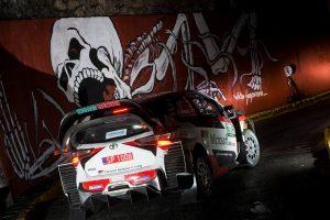 ラリー/WRC | WRCメキシコ:SS1不出走の3名に一律タイム付与。シトロエンのラッピが首位、トヨタは3番手タイ
