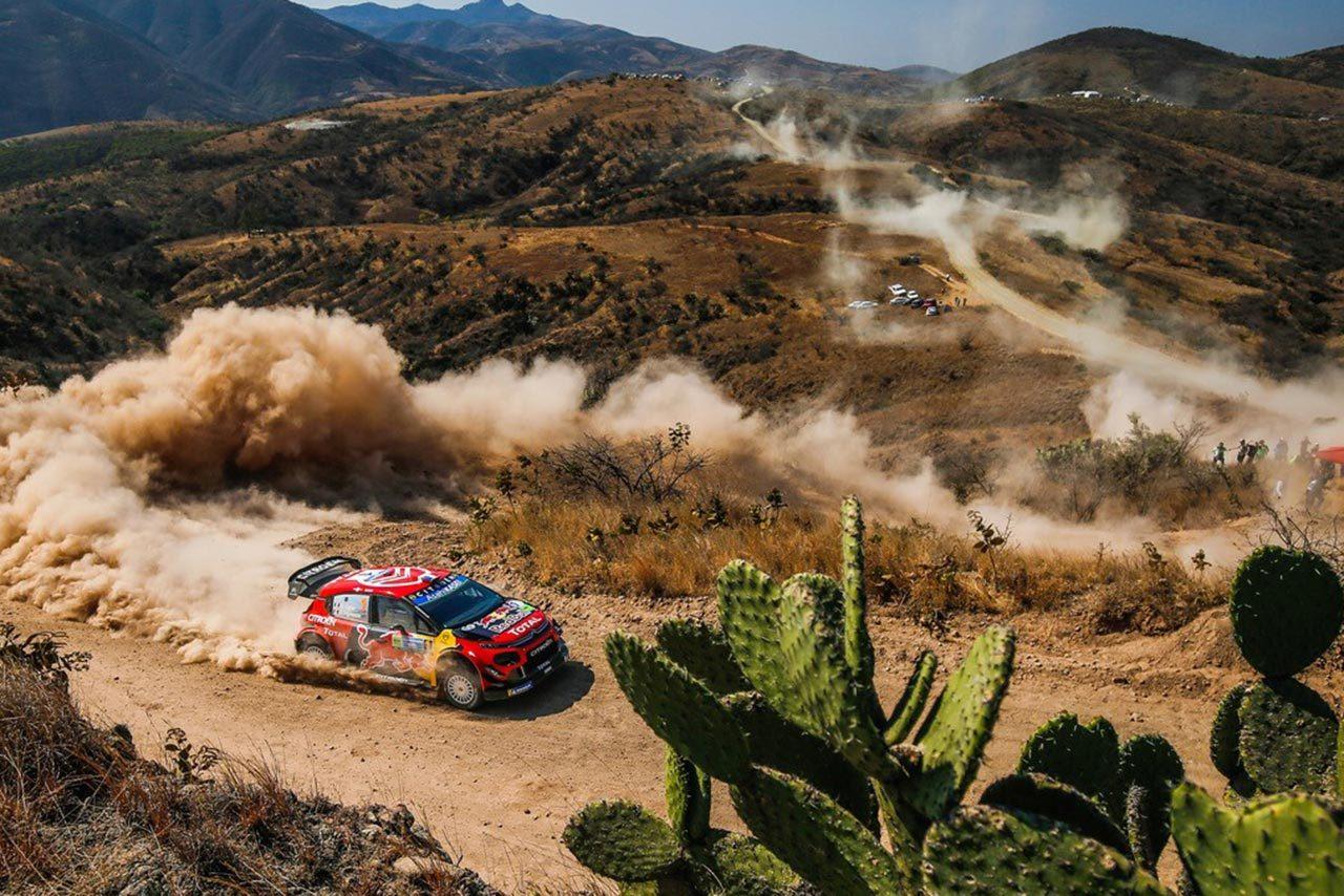 総合3番手につけたトヨタのタナク「午後のステージは限界まで攻め、ヒヤッとする瞬間も」/WRC第3戦メキシコ デイ2後コメント