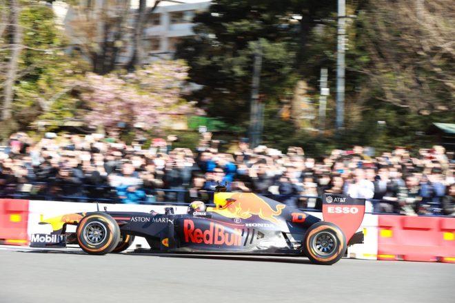 『Red Bull Showrun Tokyo』 ピエール・ガスリー