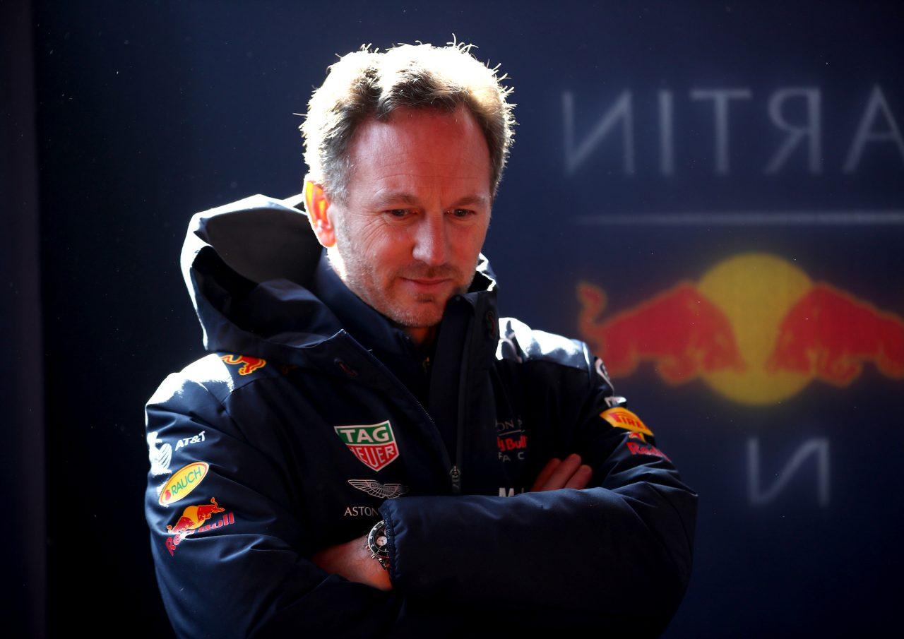 2019年F1プレシーズンテストでのホーナー