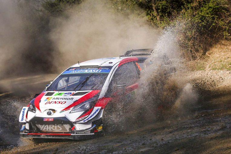 ラリー/WRC | WRCメキシコ:競技3日目、タナクが3番手浮上。トヨタ、メキシコで初の表彰台へ