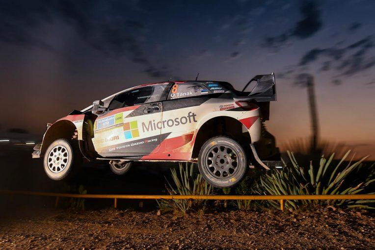 ラリー/WRC | WRC:トヨタ、メキシコ3日目でタナクが表彰台圏内に。「ヤリス全車が速さと信頼性を発揮」