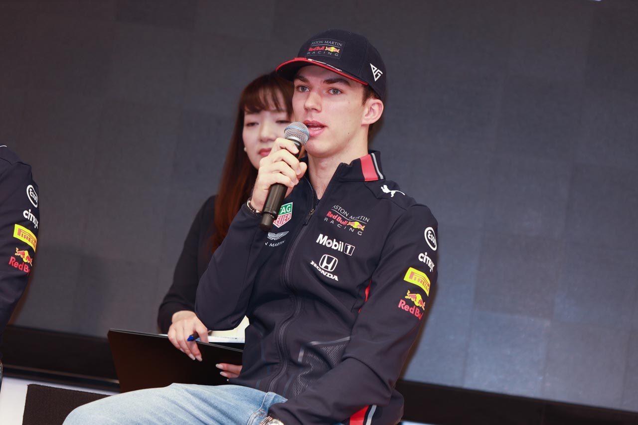『2019 Honda F1 Kick OFF 記者会見』 ピエール・ガスリー