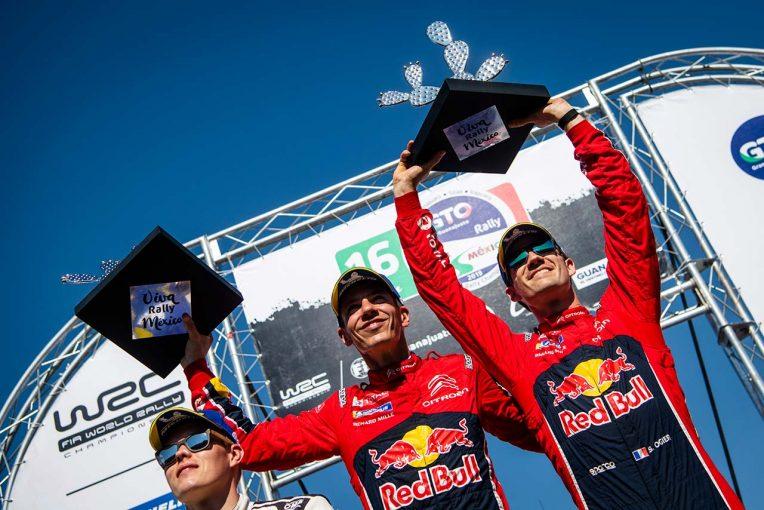 ラリー/WRC | WRCメキシコ:王者オジエが逃げ切り2勝目。トヨタは総合2位でメキシコ初表彰台