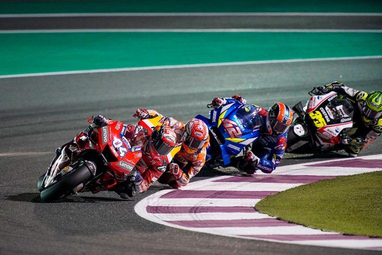 MotoGP | 優勝のドヴィツィオーゾ、「あれがマルク・スタイル」/MotoGP第1戦カタールGP 決勝トップ3コメント
