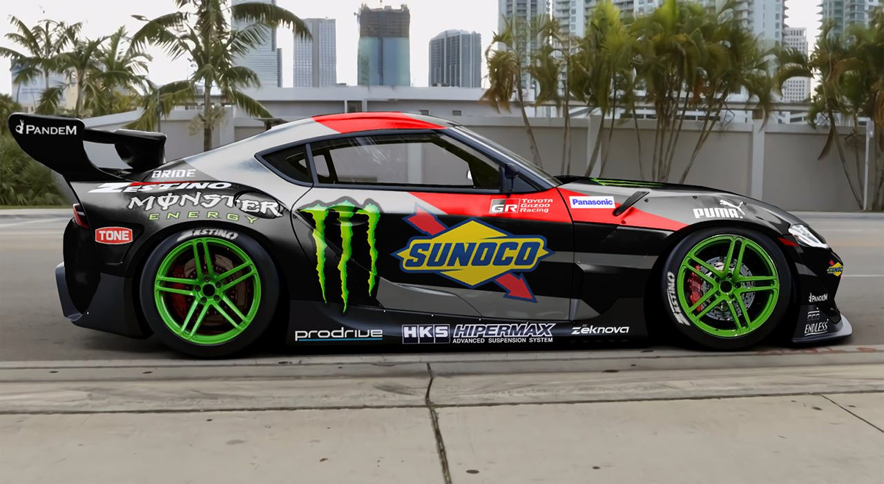 2019年春発売予定のGRスープラ、市販に先駆けドリフト競技参戦。斎藤太吾がD1グランプリへ投入