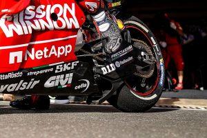 MotoGP | 開幕戦カタールGPでドゥカティが使用したスイングアーム下部のエアロダクト