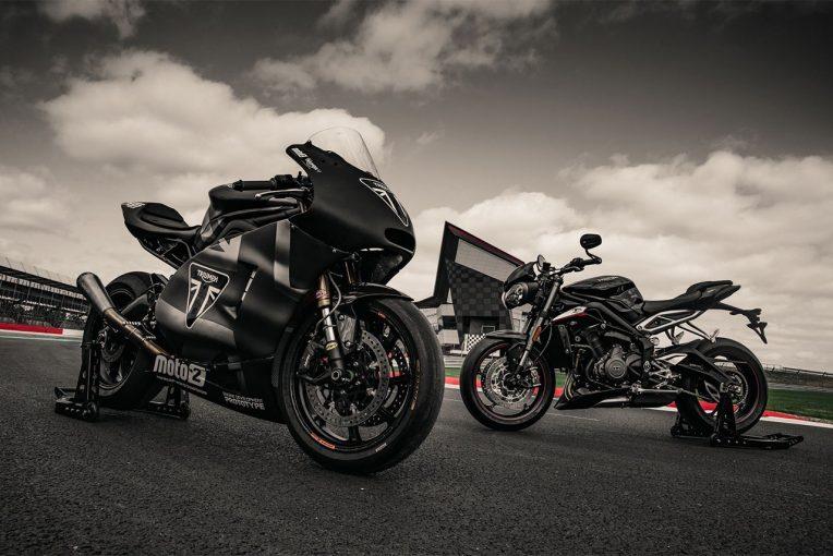 MotoGP | トライアンフ、大阪・東京モーターサイクルショー2019の出展概要を発表。新車に加えMoto2マシンも展示