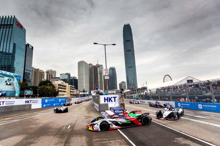 海外レース他 | アウディ 2018/19フォーミュラE第5戦香港E-Prix レースレポート
