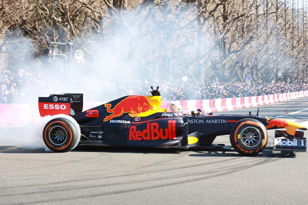 『Red Bull Showrun Tokyo』 マックス・フェルスタッペン