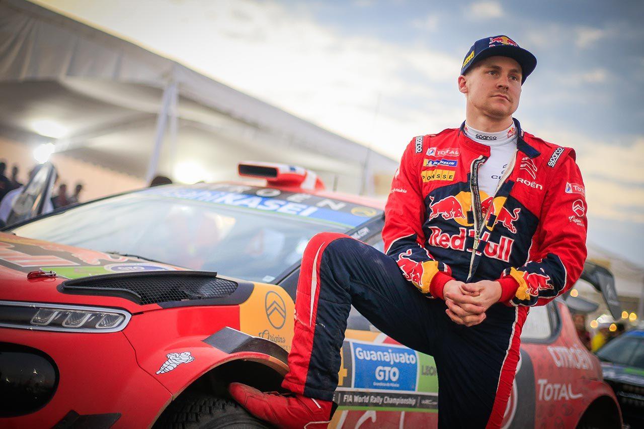 WRC:3戦連続表彰台で低迷抜けたシトロエン、「オジエの才能をあらためて見せつけられた」