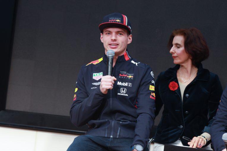 F1 | 【F1開幕直前インタビュー】ホンダPUに好印象も現実的な目標のフェルスタッペン「表彰台に上がれたら上出来」