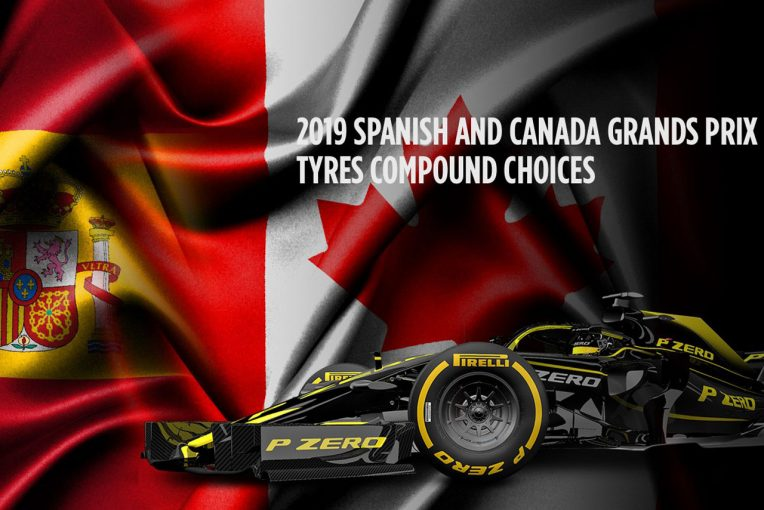 F1 | F1スペインGP&カナダGPのタイヤコンパウンド3種が決定