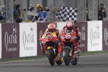 MotoGP開幕戦はドヴィツィオーゾに軍配。2位のマルケス「いつものブレーキングができなかった」