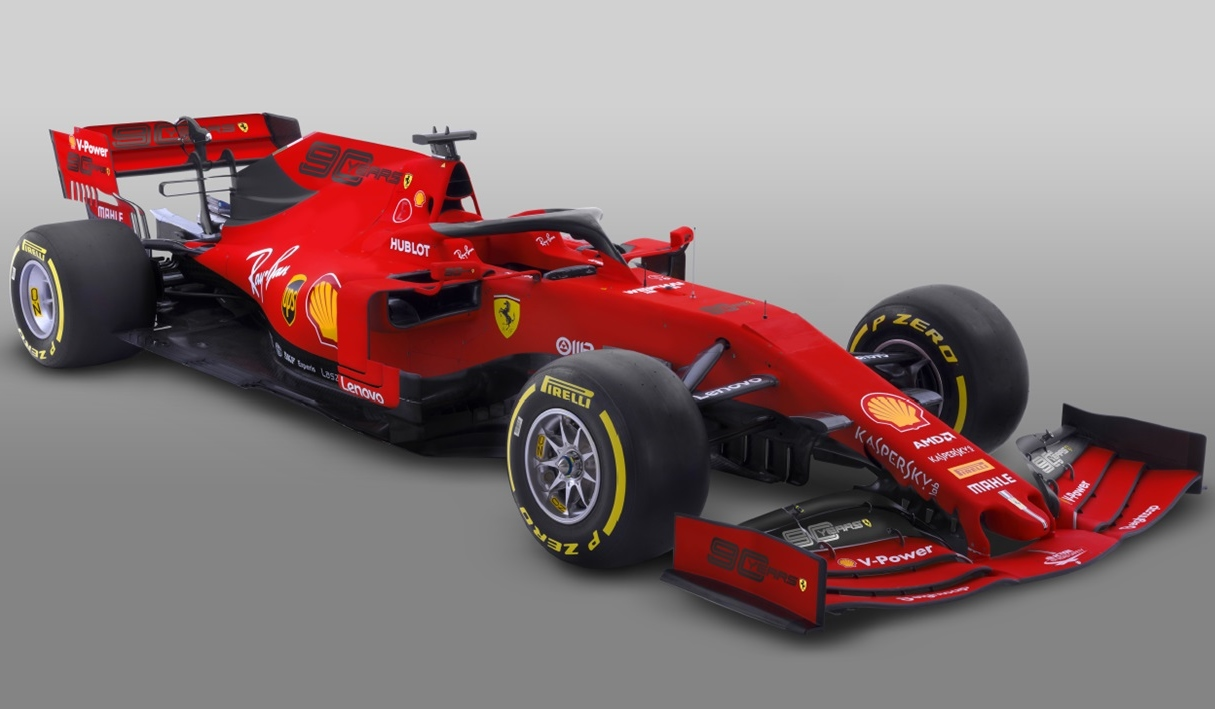 2019年F1オーストラリアGP仕様カラーリングのフェラーリSF90