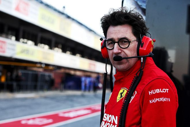 2019年F1バルセロナテスト1回目 マッティア・ビノット