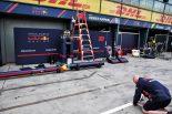 F1開幕戦オーストラリアGP レッドブル・ホンダ ピット