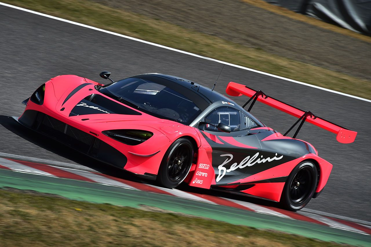 "McLaren Customer Racing Japanの""本番車""マクラーレン720S GT3が鈴鹿でシェイクダウン"
