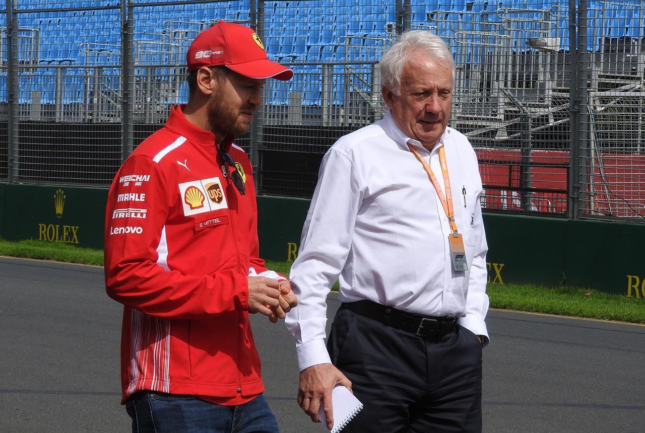 2019年F1開幕戦オーストラリアGP チャーリー・ホワイティング