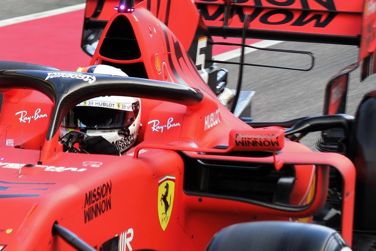 フェラーリSF90 バルセロナテスト