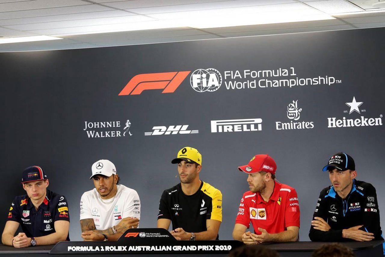2019F1第1戦オーストラリアGP プレスカンファレンス
