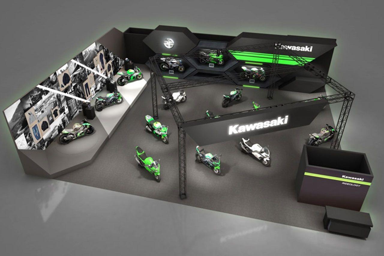 カワサキ、大阪・東京モーターサイクルショー2019の出展概要を発表。体感モデルも多数登場