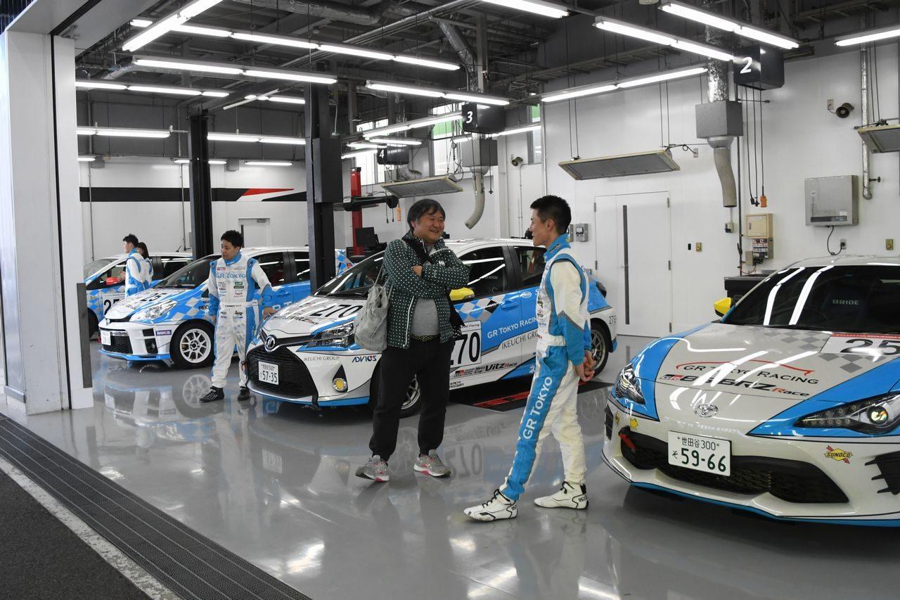 清水宏保を継続起用。ネッツトヨタ東京、2019年はGR Tokyo Racingとして3カテゴリーに参戦へ