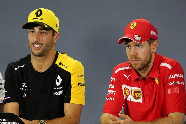 F1   ホワイティング氏の訃報を受け、悲しみに包まれたF1木曜会見。ショックを受けながらも、明るく振る舞うベッテル