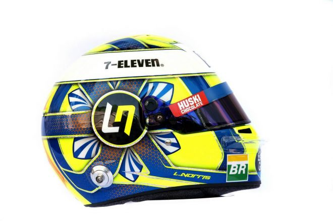 F1 | ランド・ノリス(Lando Norris) 2019年のヘルメット2