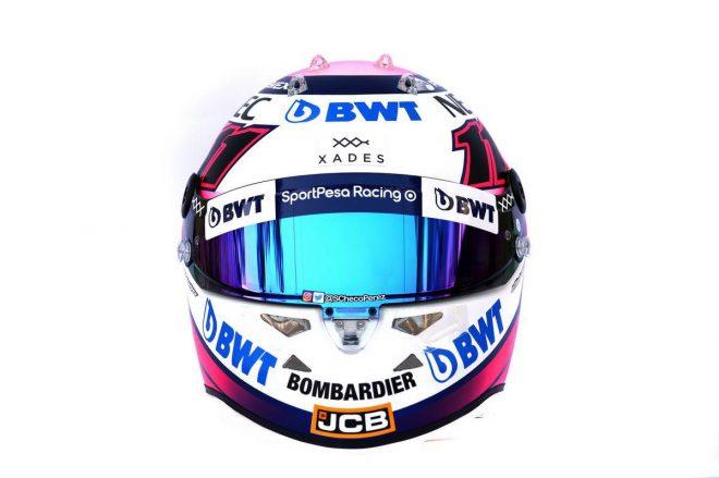 F1 | セルジオ・ペレス(Sergio Perez) 2019年のヘルメット3