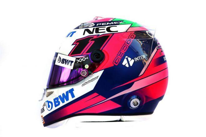 F1 | セルジオ・ペレス(Sergio Perez) 2019年のヘルメット2