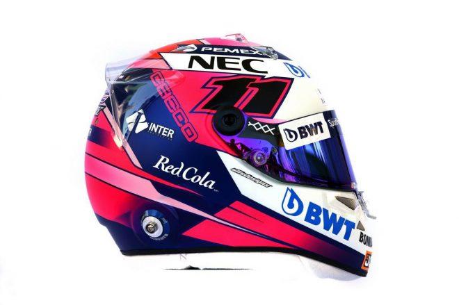 F1 | セルジオ・ペレス(Sergio Perez) 2019年のヘルメット1