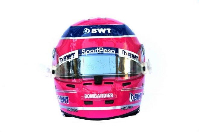 F1 | ランス・ストロール(Lance Stroll) 2019年のヘルメット3