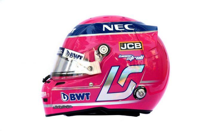 F1 | ランス・ストロール(Lance Stroll) 2019年のヘルメット2