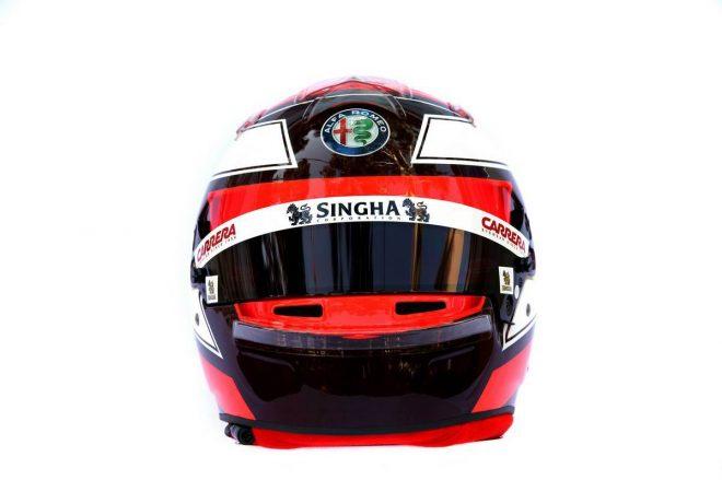 F1 | キミ・ライコネン(Kimi Raikkonen) 2019年のヘルメット3