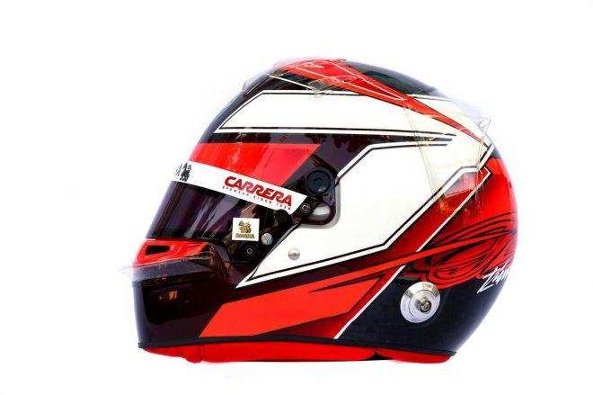 F1 | キミ・ライコネン(Kimi Raikkonen) 2019年のヘルメット2