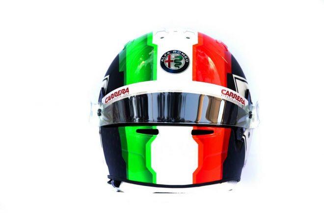 F1 | アントニオ・ジョビナッツィ(Antonio Giovinazzi) 2019年のヘルメット3