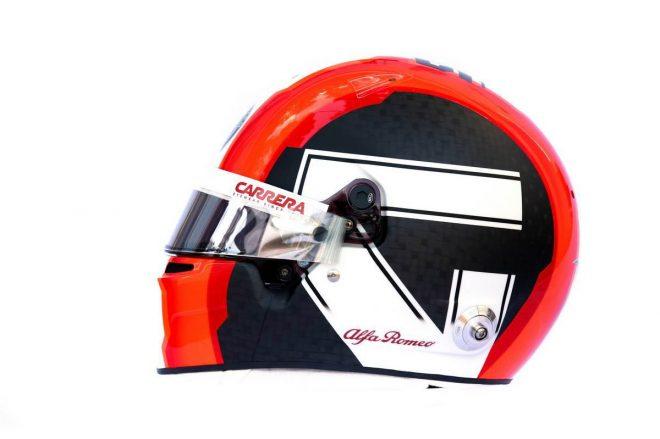 F1 | アントニオ・ジョビナッツィ(Antonio Giovinazzi) 2019年のヘルメット2