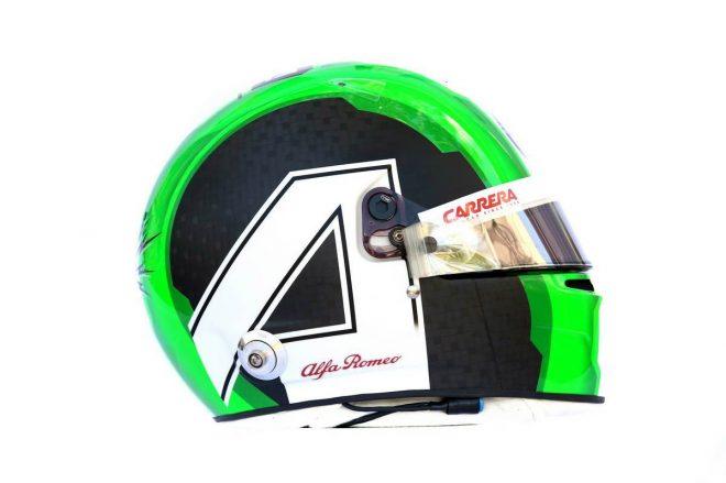 F1 | アントニオ・ジョビナッツィ(Antonio Giovinazzi) 2019年のヘルメット1