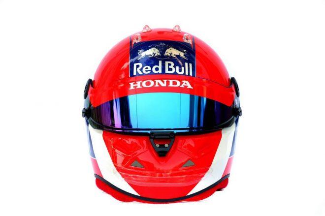 F1 | ダニール・クビアト(Daniil Kvyat) 2019年のヘルメット3